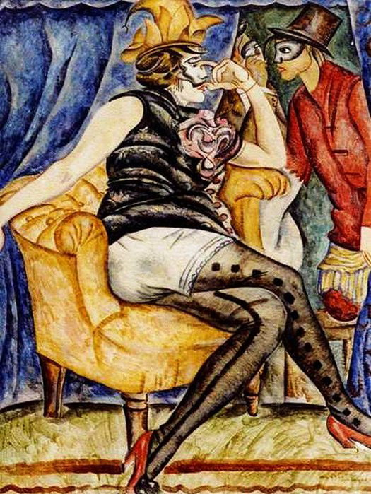 «Фриволите в масках» 1917 (525x699, 147Kb)