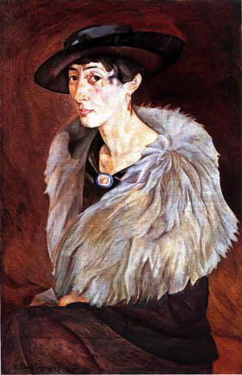 Портрет А.Е.Грилихес, 1917 (350x541, 71Kb)