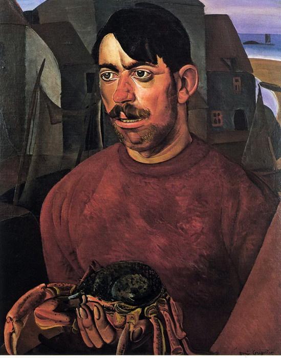 Портрет рыбака с крабом (549x700, 113Kb)