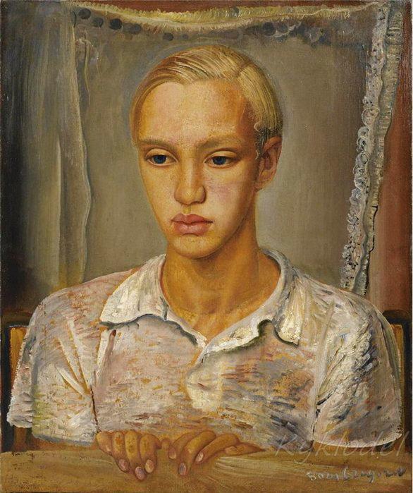 Портрет сына художника Кирилла  - 2001 (586x699, 111Kb)