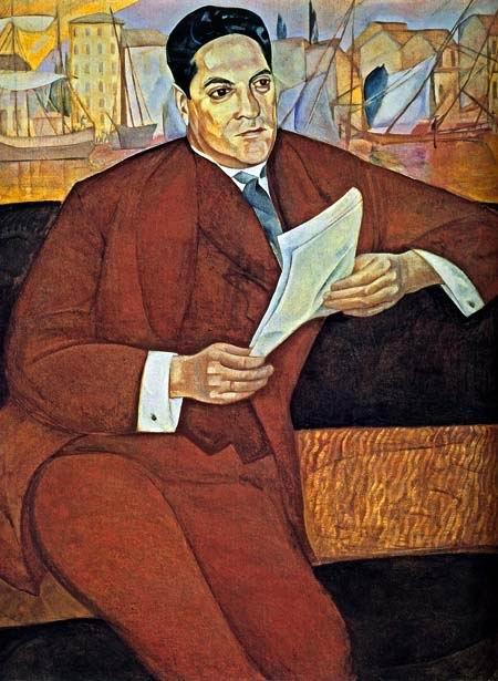 Портрет, С.И. Молло, 1917 (450x615, 64Kb)