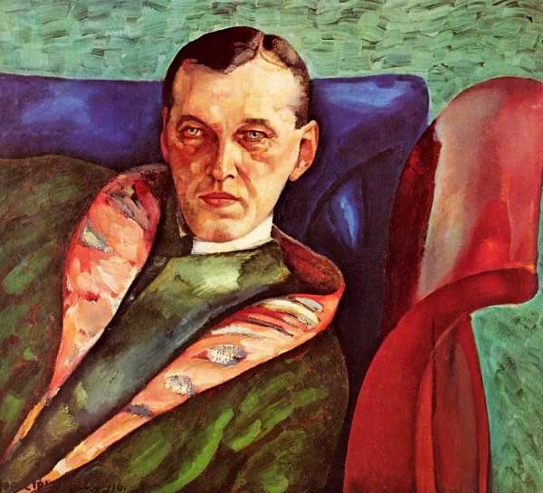 Портрет Александра Александровича Коровина 1916 (600x545, 84Kb)