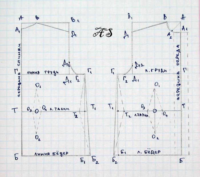 построение выкроек для вязания записи в рубрике построение