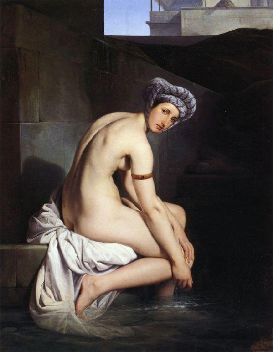Francesco Hayez 010 - Bathsheba 1920's (542x700, 47Kb)