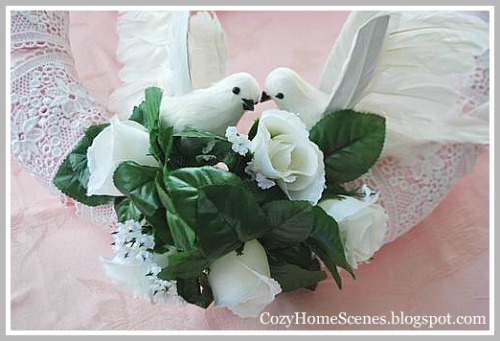 Romantic Heart Wreath- Lovebirds 2 (500x341, 54Kb)