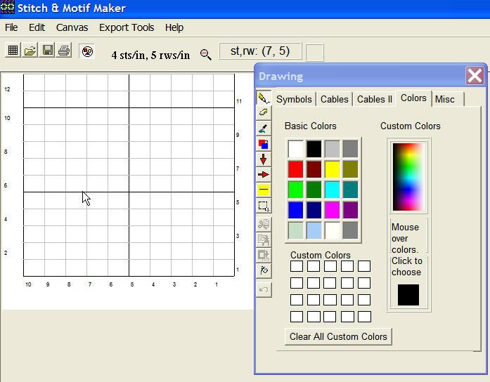 программы для создания схем для вязания на спицах обсуждение на