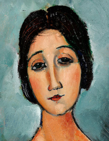 Amedeo Modigliani (1884-1920) Christina 80 x 69 cm (372x480, 41Kb)