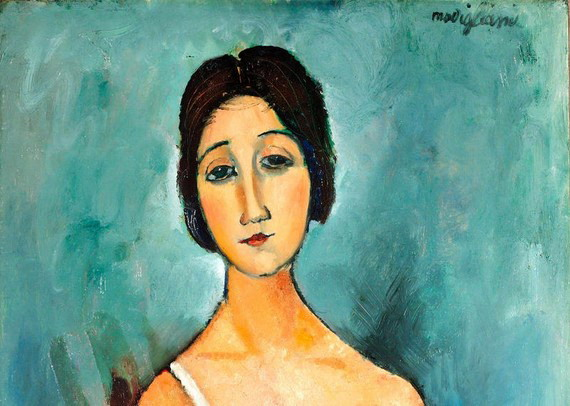 Modigliani    Christina (570x406, 73Kb)