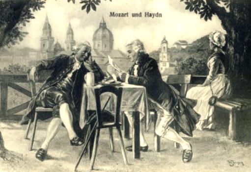 Моцарт и Гайдн