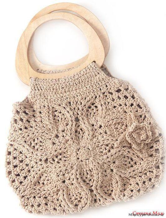 7d577f9b4ba0 схема вязания сумки - Самое интересное в блогах
