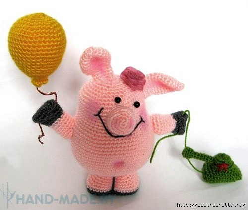 свинка крючком самое интересное в блогах