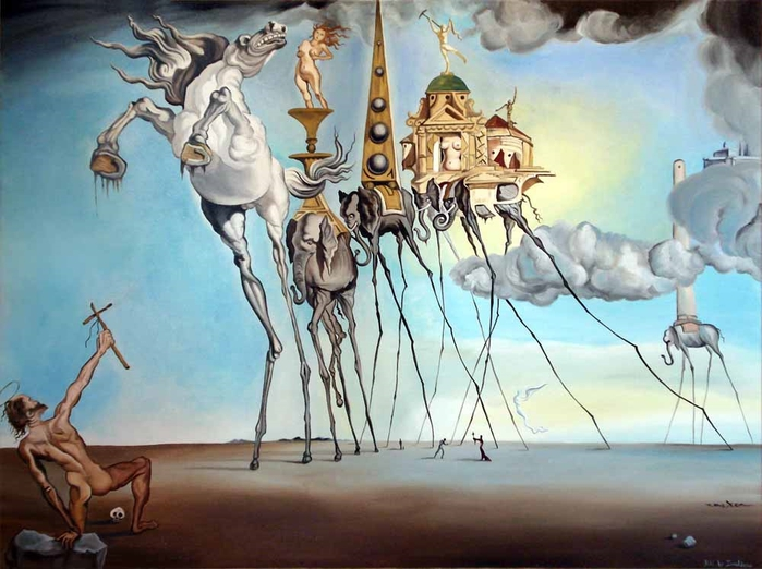 a biography of salvador dali a surrealist painter Find the latest shows, biography, and artworks for sale by salvador dalí salvador dalí was a leading proponent of surrealism, the 20-century avant-garde mov.
