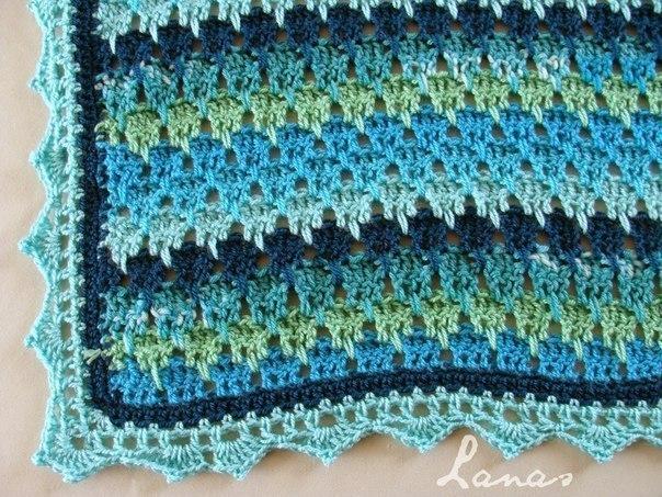 Крючок вязание разными цветами 594