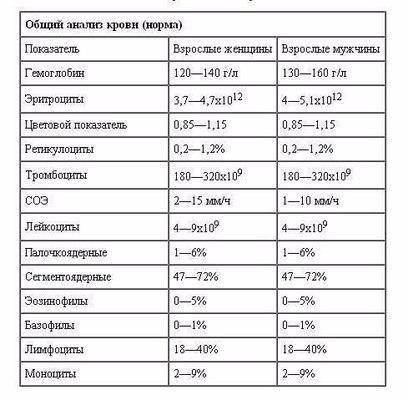 Гемоанализ крови анализ крови количество лейкоцитов