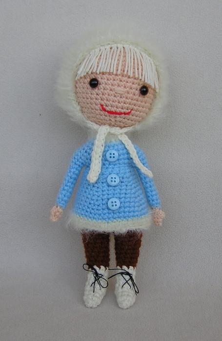 Мастер-класс вязанной куклы.  Модели.  Игрушки.