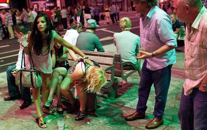 Телок молодых пьяных бутербродиком — photo 12