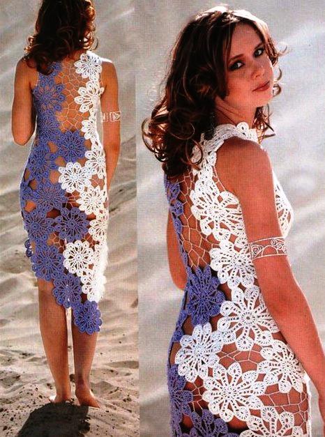 Вязаное свадебное платье рекомендации