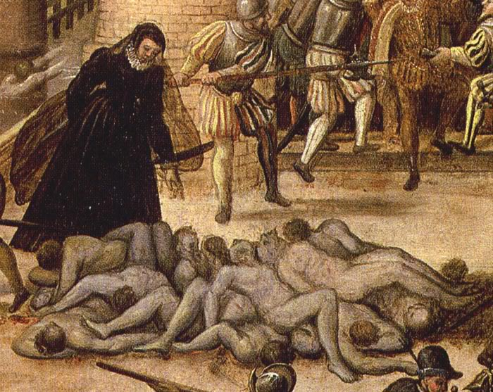 st bartholomew day massacre Before i share a link to some primary source accounts of the 1572 st bartholomew's day massacre, here is an excerpt from my book on this day in tudor history about the massacre:.
