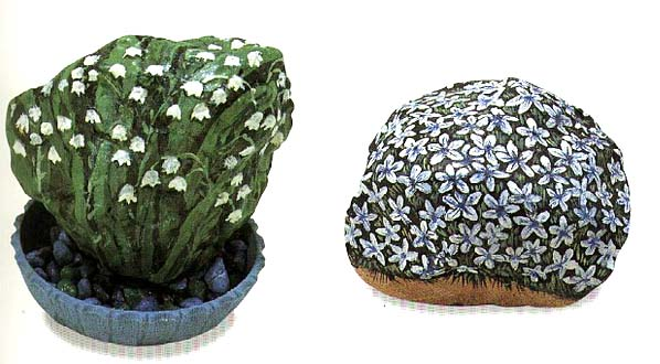 5 painting flowers on rocks table of contents 21 (598x330, 65Kb)
