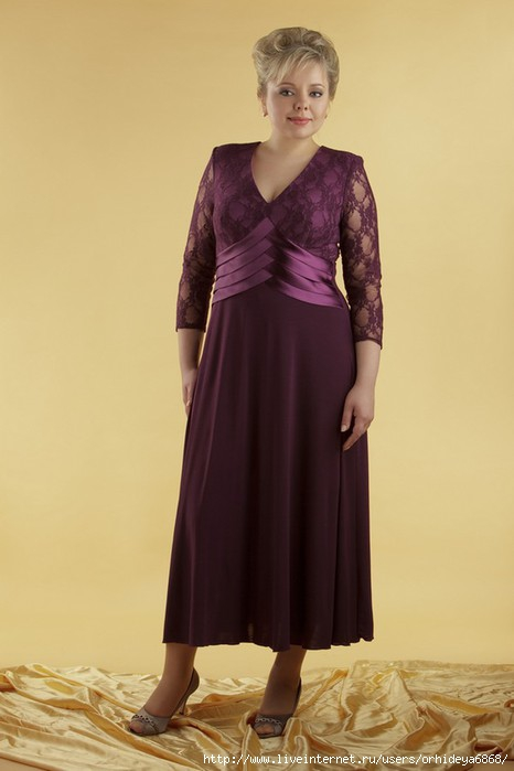 Салон свадебных платьев Марго - Вечер для полных.