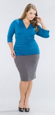 одежды для полных женщин весом 100 кг.