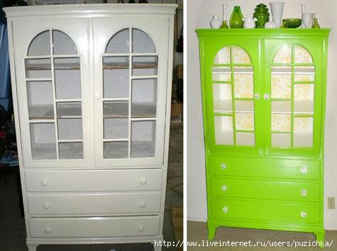 Перекрасить мебель в белый цвет своими руками