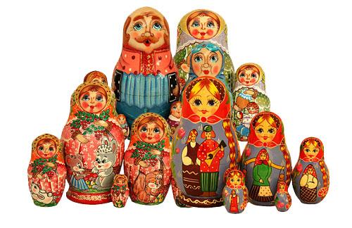 Прообразом русской матрешки стала японская ритуальная кукла, внутри...