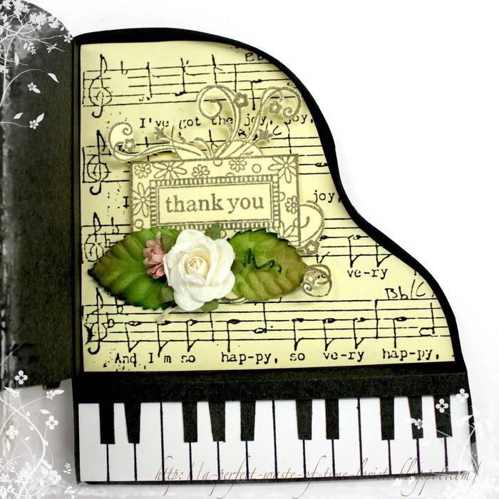 Открытки с фортепиано