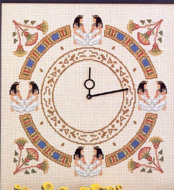 Вышивка египет крестом схемы