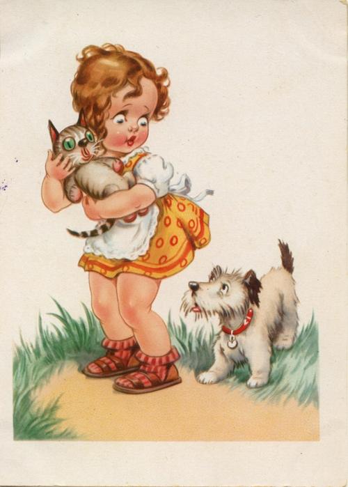 Артема картинки, немецкие открытки 50 годов