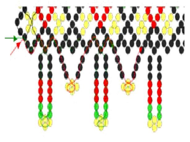плетение из мулине. фиалки из бисера схемы плетения, виды ювелирного.