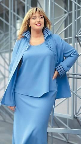Модная одежда для полных женщин - заполнение гардероба пышными дамами.
