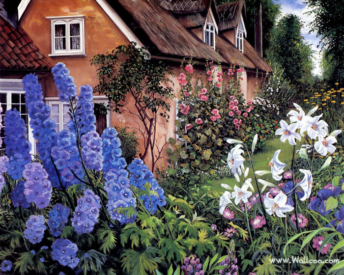 Art_painting_of_Susan_Rios_10_Delphiniums (700x560, 265Kb)