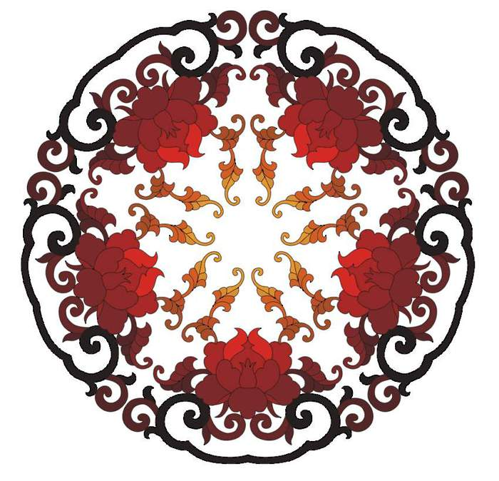 4390899_Chinese_flower_ornament_2 (700x674, 72Kb)