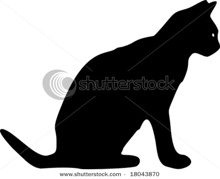 stock-vector-black-cat-silhouette-18043870 (450x367, 19Kb)