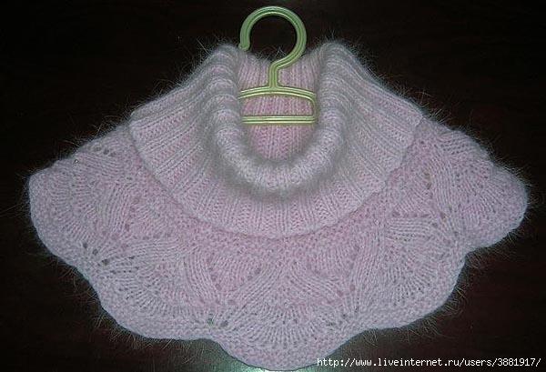 Вязание манишки на спицах для мужчин. .  Вышивка бисером на шапке схема.