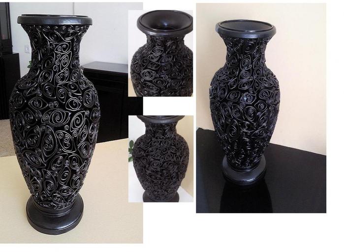 Потрясающий кожаный квиллинг на вазе !!!!!. Обсуждение на ...