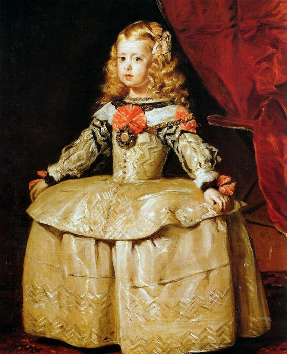 Velazques Margaretha as a child Sun (567x700, 126Kb)