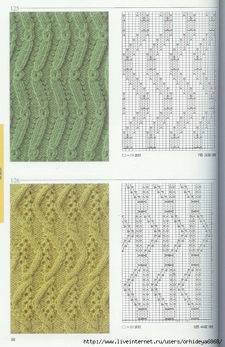 Knitting patterns book 250 (Узоры по вязанию спицами.