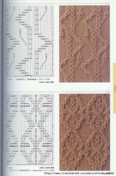 Серия сообщений. вязание спицами.  Танечка777.  Цитата сообщения.