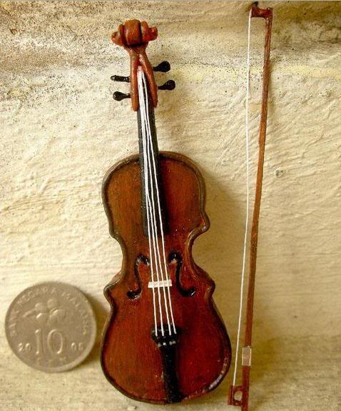 Открытка скрипка своими руками