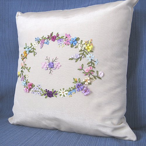 Beautiful flowers embroidered ribbon theme (Part 2)