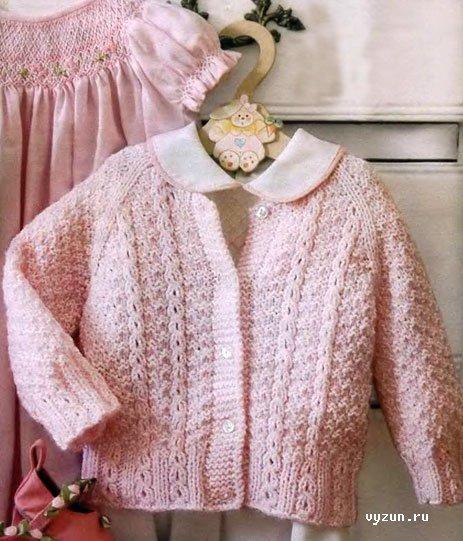 Ярлыки: вязание спицами, а вязаная кофта для девочки 5 лет схема для...