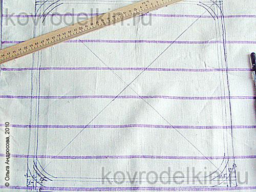 Учимся вышивать и делаем чехол на табурет - Babyblog.ru