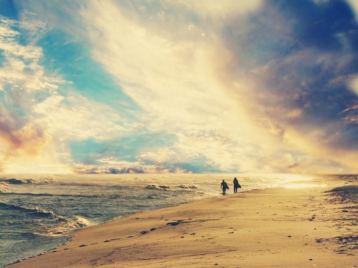 серфинг закат волны скачать