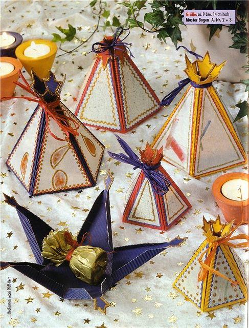 модульное оригами новогодний шарик. оригами из салфеток.