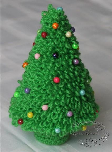 Новогодняя елочка сделанная своими руками фото 559