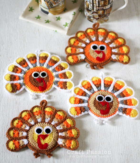 crochet-turkey-coaster-2 (588x686, 149Kb)