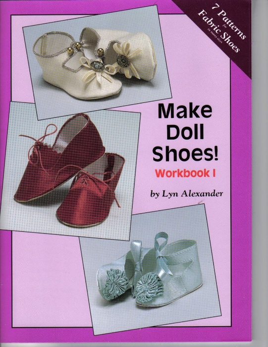 Make Doll Shoes workbook 1 fc (541x700, 308Kb)