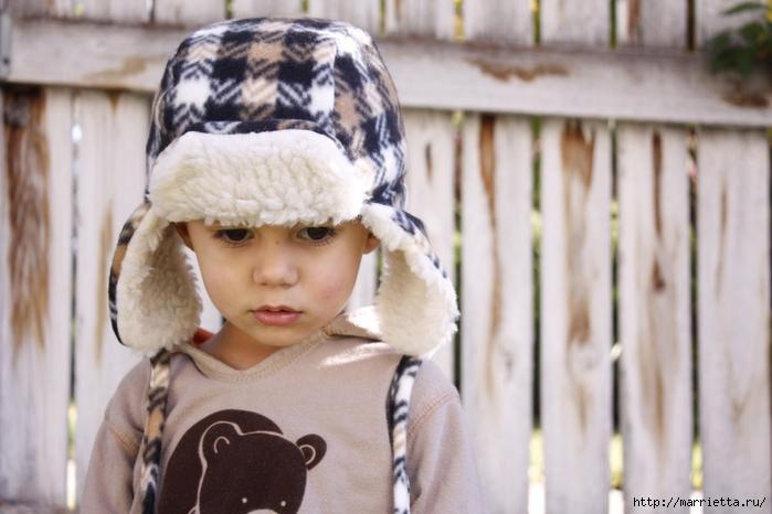 как сшить детскую шапочку сшить шапку.